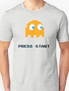 PACMAN RETRO PRESS START ARCADE TSHIRT T-Shirt