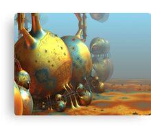 Extraterrestrial World Canvas Print