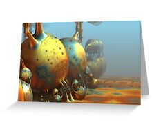 Extraterrestrial World Greeting Card