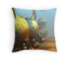 Extraterrestrial World Throw Pillow