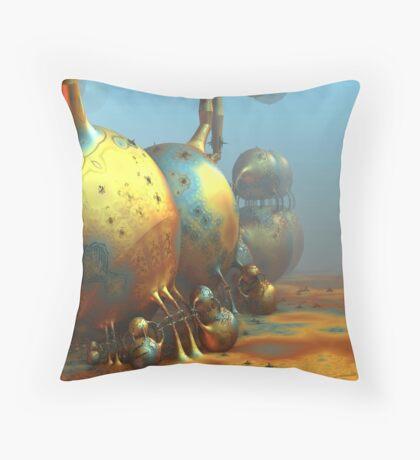 Extraterrestrial World Throw Pillow