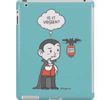 Vegan Vampire iPad Case/Skin