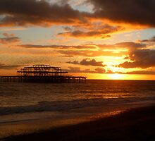 West Pier by Christian Williams