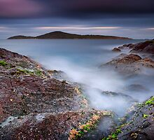 Fingal Bay - Rocks 4 by Michael Howard