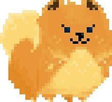 Pomeranian Pixel by Fubu