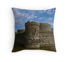 Beaumaris Castle Throw Pillow