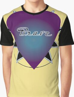Brave Heart Graphic T-Shirt