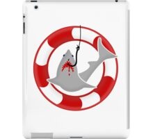 Shark on the hook VRS2 iPad Case/Skin