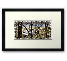 A Recent Sneak Peek of the Old Farm and the Tale Behind It Framed Print