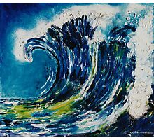 The wave's power 2 Photographic Print