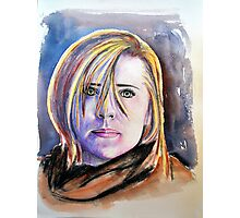 Chloé (Allison Mack) Photographic Print