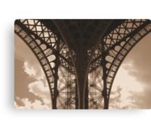 lace architecture Canvas Print