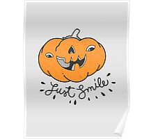 Just Smile! Poster