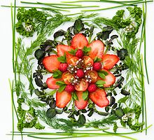 Fresh Fruit Salad by Anne Gilbert