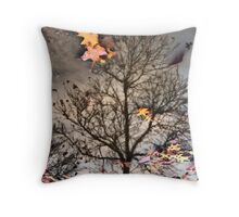 reflected Fall... Throw Pillow
