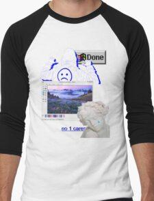 Windows Vaporwave Aesthetics Men's Baseball ¾ T-Shirt