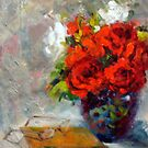 Red roses by Ivana Pinaffo