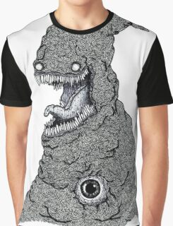 Psychedelic Demon Graphic T-Shirt
