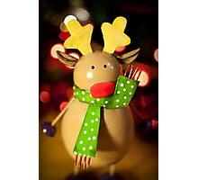 Rudolph! Photographic Print