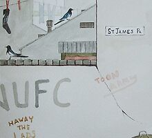 """""""The Magpies"""" by Alan Harris"""