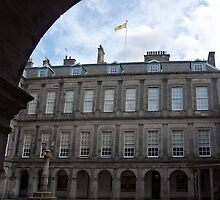 The Quadrangle, The Palace Of Holyroodhouse, Edinburgh by MagsWilliamson
