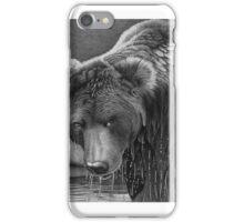 Wet Bear in Ball Point Pen iPhone Case/Skin