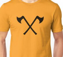 crossed axe viking Unisex T-Shirt