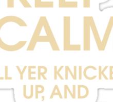 Keep Calm... Sticker