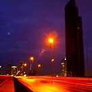 Lightstreeks Crossing Bridge by vanyahaheights
