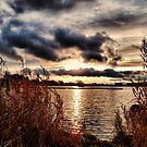 Yeadon Tarn Sunset by Colin Metcalf