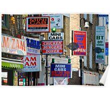 Signs.Brick Lane Poster