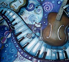 Rhapsody in Blue by Cherie Roe Dirksen