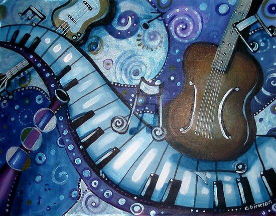 Rhapsody in Blue by Cherie Roe Dirksen
