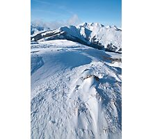 Maurerkogel, Zell am See, Austria Photographic Print