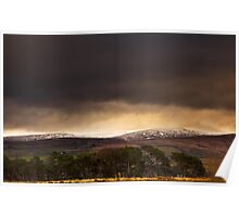 The Howgill Fells in Winter Poster