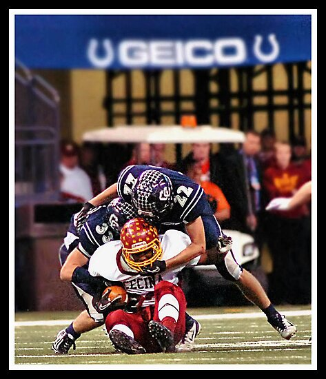 Class 1A Lafayette Central Catholic vs Indianapolis Scecina 6 by Oscar Salinas