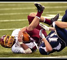 Class 1A Lafayette Central Catholic vs Indianapolis Scecina 8 by Oscar Salinas