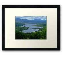 Loch Garry Framed Print