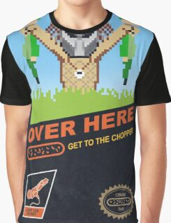 Over here! Graphic T-Shirt