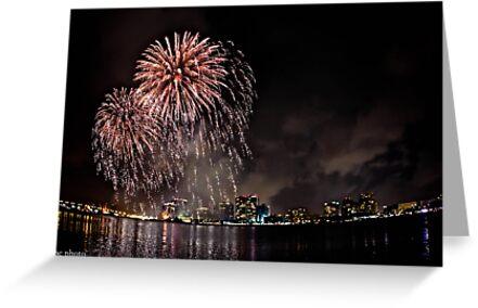 Fireworks  by Jacki Campany