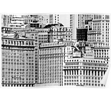 Downtown New York City  Poster