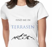 Find Me In... TERRASEN Womens Fitted T-Shirt