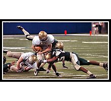 Class 4A Cathedral vs South Bend Washington 6 Photographic Print