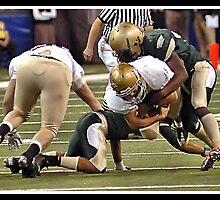 Class 4A Cathedral vs South Bend Washington 8 by Oscar Salinas