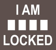 I am ____ locked - A Sherlock tee by Octave
