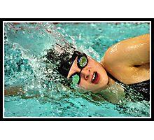 Center Grove vs Carmal Swimming 3 Photographic Print