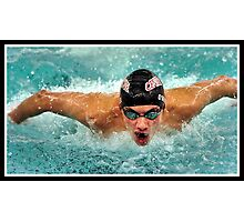 Center Grove vs Carmal Swimming 9 Photographic Print