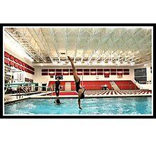 Center Grove vs Carmal Swimming 10 Photographic Print