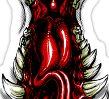 Monster Maw Sticker