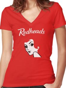 Redheads Women's Fitted V-Neck T-Shirt